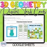 Geometry | 3D | Task Cards and Mystery Picture