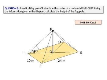 Geometry: 3D Trigonometry Questions (TRIG) - WORKSHEET