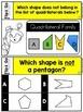 Geometry Task Cards 3rd Grade Math Centers