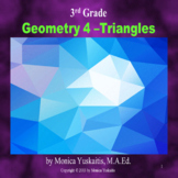 3rd Grade Geometry 4 - Triangles Powerpoint Lesson