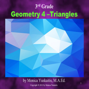 Common Core 3rd - Geometry 4 - Triangles