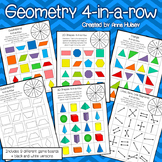 Geometry 4-in-a-row