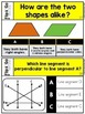 Geometry Task Cards 4th Grade Math Centers