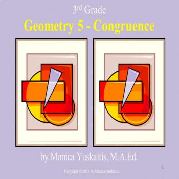 Common Core 3rd - Geometry 5 - Congruent & Similar