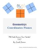 Geometry 5th Grade: Coordinate Plane Quadrants