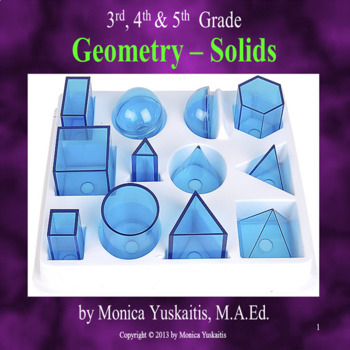 Geometry 3rd, 4th, & 5th - Solids