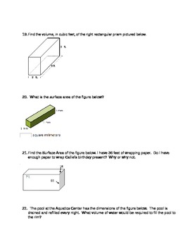 Geometry 6.G.1 and 6.G.2