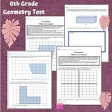 Geometry 6th Grade Math Assessment (G. 1-4)
