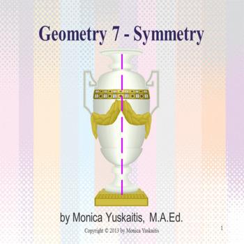 Geometry - 3rd, 4th, 5th & 6th - Symmetry
