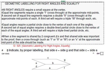 HS [Remedial] Geometry A Sampler: (textbook-less course)-41 pgs