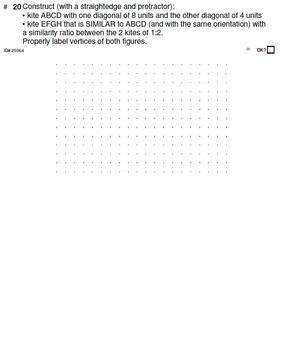 HS [Remedial] Geometry A UNIT 6: Similar Constructions(5 worksheets; 6 quizzes)