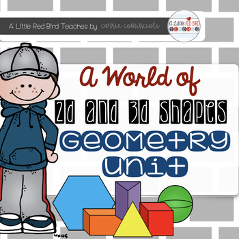 Geometry - A World of 2-D and 3-D Shapes