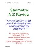 Geometry A-Z Review