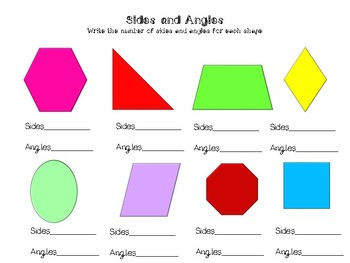 Geometry Activités- Shapes and Fractions