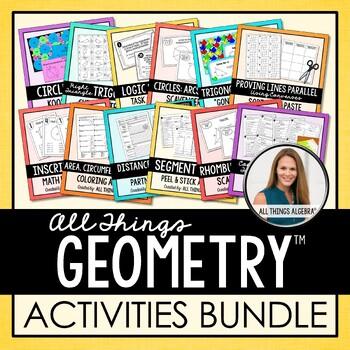 Geometry Activities Mega Bundle