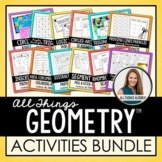 Geometry Curriculum: Activities Bundle