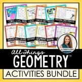 Geometry Curriculum: Activities Bundle