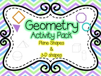 Geometry Activities! Scoot, Sort, and MORE!