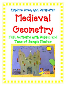 Geometry Activity BUNDLE- Includes 4 FUN Hands-On Projects Common Core