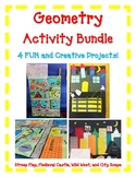 Geometry Activity BUNDLE- Includes 4 FUN Hands-On Projects