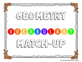 Geometry Activity Bundle