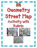 Geometry Activity Project Angles Lines Shapes STREET MAP creative kid friendly