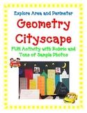Geometry Activity Project Area Perimeter Measure CITYSCAPE Art creative fun