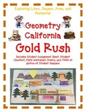 Geometry Activity Project GOLD RUSH -Explore Lines, Shapes