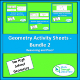Geometry Activity Sheets - Bundle 2