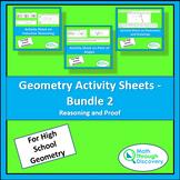 Geometry Activity Sheets - Bundle 2