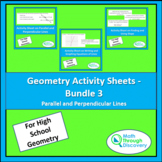 Geometry Activity Sheets - Bundle 3