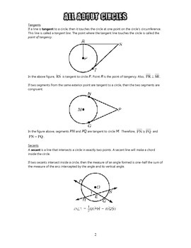 Geometry - All About Circles