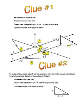 Geometry Amazing Race (High School)