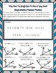 Angle Addition Postulate Riddle Worksheet
