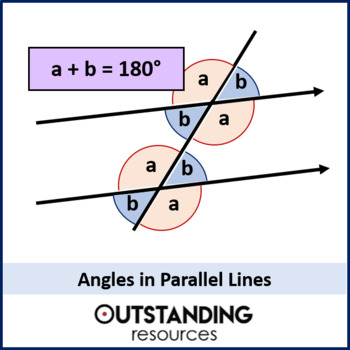 Geometry: Angle Rules 2 - Angles in Parallel Lines (+ worksheet)