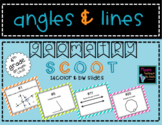 Geometry Angles & Lines Scoot 4th Grade
