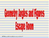 Geometry Angles and Figures Escape Room