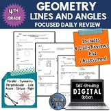 Angles and Lines Geometry Daily Review