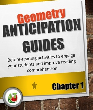Geometry Anticipation Guides: Chapter 1 PREVIEW