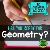 Geometry: Are You Ready? Bundle of Resources