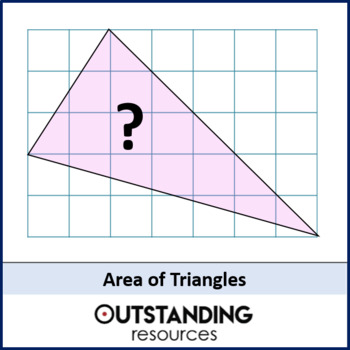 Geometry: Area 3 - Area of Triangles (+ worksheet)