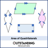 Area 4 - Quadrilaterals (+ worksheet)