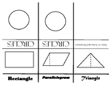 Geometry Area of Polygons Foldable Notes