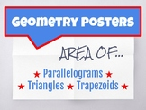 Geometry Area Posters