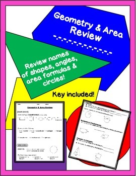 Geometry & Area Review