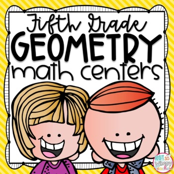 Geometry, Area and Perimeter Fifth Grade Math Centers