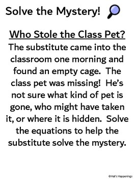 Geometry Area and Volume Solve the Mystery Puzzle