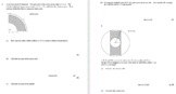 Geometry: Area of Compound Shapes Quiz with Answer Key and