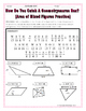 Area - Geometry Area of Mixed Figures Riddle Practice Worksheet