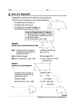 Geometry: Area of Polygons
